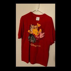 NWT's Walt Disney World Large Red Shirt